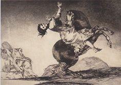 """Goya - """"Unbridled Folly"""""""