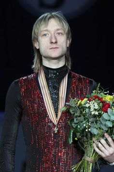 Evgeni Plushenko -  - Men's Figure Skating / Ice Skating dress inspiration for Sk8 Gr8 Designs.