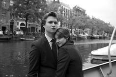 augustus waters and hazel grace. so beyond excited for the fault in our stars