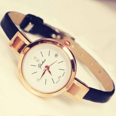 Cool! Retro Thin Strap Diamond Elegant Ladies Alloy Quartz Wrist Rose Gold Watch just $19.99 from ByGoods.com! I can't wait to get it!