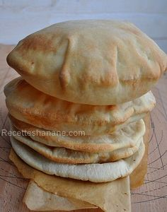 Pain pita, ou pain Libanais