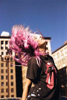 alternative, beautiful, color hair, colour hair