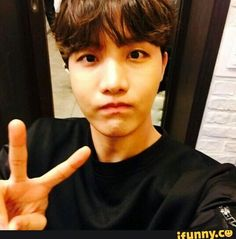 I know this is hobi, but he honestly looks like a yoonseok love child,??