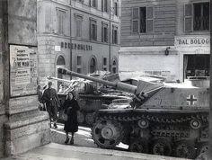 German armor in Rome.