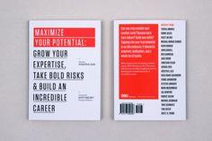 99U Book Design :: Maximize Your Potential (Vol 2.) by Raewyn Brandon, via Behance