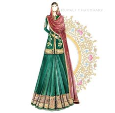 Fashion Illustration Sketches, Fashion Design Sketches, Illustration Art, Boutique Logo, Dress Sketches, Art Studios, Fashion Boutique, Bridal Dresses, Bride