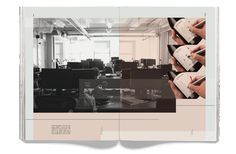 Multi-spread article for Espier Magazine by JP Brenner, via Behance