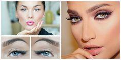 Μεταμόρφωσε το βλέμμα σου μετά από μια κουραστική ημέρα, με 6 απλά  τρικ μακιγιάζ! Make Up Tricks, Smokey Eye, Septum Ring, Eyeliner, Wordpress, Names, Makeup Tricks, Eye Liner, Makeup Dupes