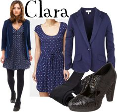 Clara Oswald what i plan on dressing as for comic con