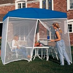 EZ UP ScreenRoom Screen For use W/ Sierra II instant shelter 10X10 (Screen Only- Canopy not included) by E-Z UP. $69.99