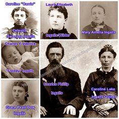 Ingalls family - Laura Ingalls Wilder