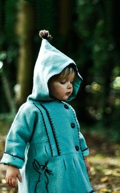 new rule: all hooded garments of children must be as pointy as possible.