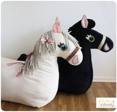 Reittier Pferd Schnittmuster und Nähanleitung