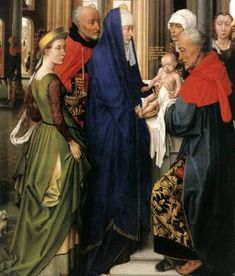 """2 February – Feast of the Presentation of the Lord – This is known as a """"Christmas feast"""" since it points back to the Solemnity of Christmas.    Many Catholics practice the tradition of keeping out the Nativity creche or other Christmas decorations until this feast.   The Presentation of Jesus at the Temple ........"""