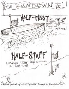 A great reminder about #APStyle for #journalists Mast is for water, staff is for land!