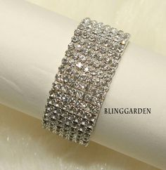 Elastic Jewelry Craft Rhinestone Crystals Wedding by blinggarden, $14.99