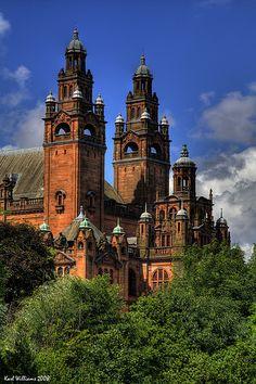 Glasgow's Kelvingrove Museum and Art Gallery, Scotland