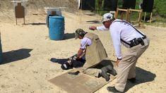 Scott Warren of Warren Tactical Series shooting at the Delaware IDPA Championship, held at the Bridgeville Rifle & Pistol Club Delaware, Club