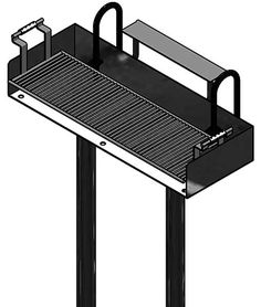 Stand-Up Grill, Large: Stand Up Grills offer an inexpensive way to offer cooking facilities to your park's visitors. - Iowa Prison Industries