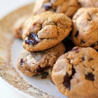... chocolate, Flourless peanut butter cookies and Almond butter cookies