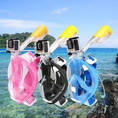 Full Face Snorkeling Mask Scuba Watersport Underwater Diving Snorkel S – Ocean Lace