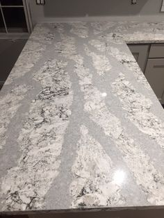 Install shots of the kitchen counter tops #remodel #remodeling #kitchen #kitchenremodel #quartz #cambriaquartz
