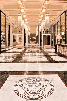 1000 images about marble floor design on pinterest for Carrelage versace