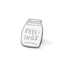 Image of Bottled Up Feelings Enamel Pin