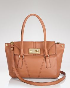 Milly Mina Leather Satchel