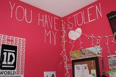 One Direction room sorry just need to post this