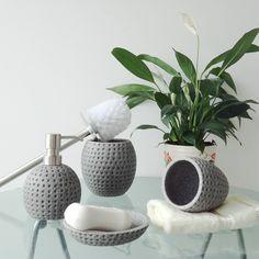 Luxury Bathroom Accessories Set Elegant Polyresin Bathroom Accessory Set 5pcs