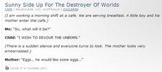 Eggs-- lol