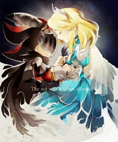 Sir Lancelot and Princess Maria <3 ITS SO CUTE!!!! Shadow there she is for you