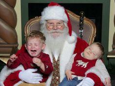 Best Scared of Santa Photos - Parenting.com