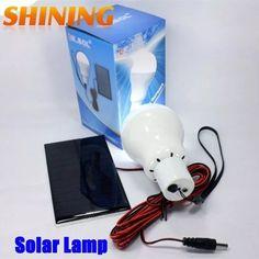 Lâmpada De Energia Solar Com Luz De 12 Led - produto importado