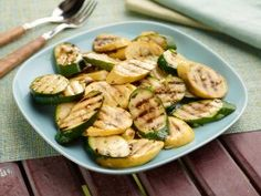 Marinated Zucchini and Summer Squash from CookingChannelTV.com