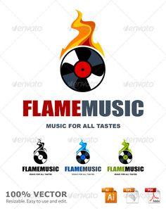 Realistic Graphic DOWNLOAD (.ai, .psd) :: http://vector-graphic.de/pinterest-itmid-1000928683i.html ... Musical logo template ...  audio, burn, creative, disc, disk, dj, emblem, fire, flame, logo, mix, music, musical, plate, record, recording, sign, sound, soundtrack, studios, symbol, template, turntable, vector, vinyl  ... Realistic Photo Graphic Print Obejct Business Web Elements Illustration Design Templates ... DOWNLOAD :: http://vector-graphic.de/pinterest-itmid-1000928683i.html