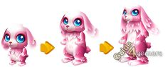Fantasy Forest Story Easter Bunny Growth