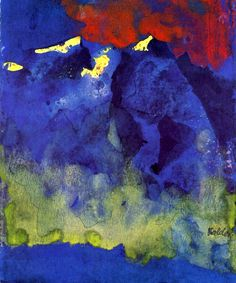 Mountains Emil Nolde