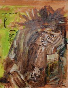 Jean Michel Basquiat  (Portraits 1. Painters, scene 4)