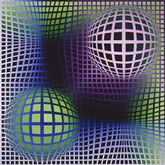Boo by Victor Vasarely