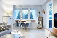 Salon styl Skandynawski - zdjęcie od Martyna Midel projekty wnętrz - Salon - Styl Skandynawski - Martyna Midel projekty wnętrz