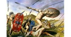 Fighting in the Buff: Did #Celtic Warriors Really Go to War #Naked?