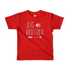 497ec3baa Big Brother Outfit Modern Big Brother T-Shirt 4 Year Old Boy Birthday,  Birthday
