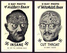 rrrick: Anti-fascist propaganda cards, circa 1942