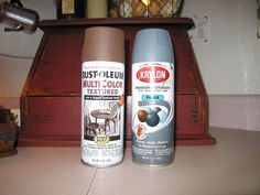 Olde Pear Primitives: Today's Tutorial.....Faux Rust