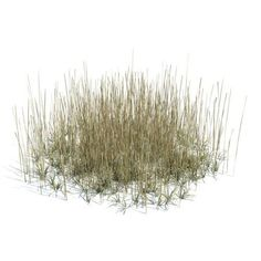 brown grey grass 3d model obj 1
