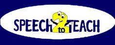 Speech2Teach - printable resources that enhance speech and language skills of children in preschool and elementary school