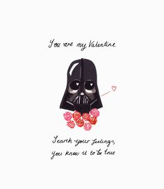 Perfekt Darth Vader Valentineu0027s Card By RocketEllen On Etsy