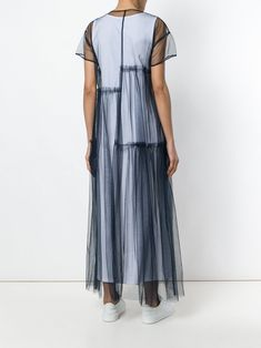 All day dresses. Never be stuck without something to wear with our collection of designer day dresses at Farfetch. Day Dresses, Casual Dresses, Fashion Dresses, Sheer Dress, Tulle Dress, Prom Dress, Evening Dresses Plus Size, Evening Gowns, Chic Dress
